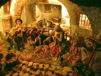 Presepe di Budino di Foligno è artistico e la tradizione si ripete