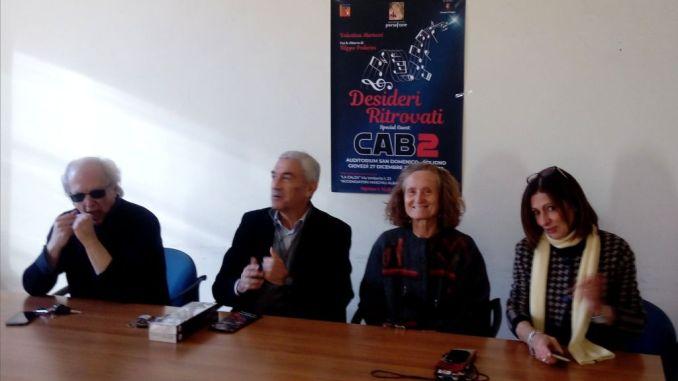 """Concerto """"Desideri Ritrovati"""" con Valentina Mariucci, Filippo Poderini e i Cab2"""