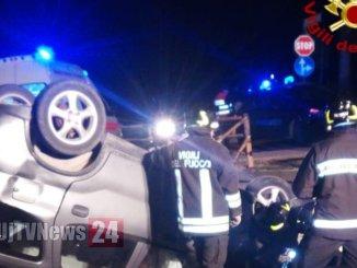 Incidente stradale con ferito a San Giovanni Profiammadi Foligno