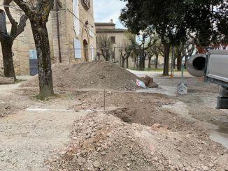 Intervento di riqualificazione dei giardini pubblici di Montefalco