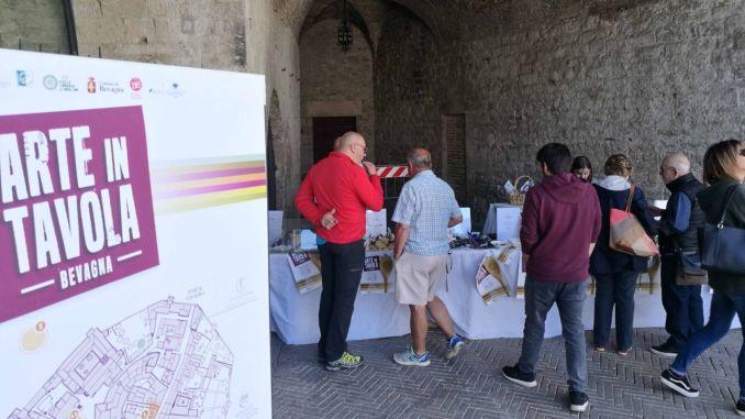 Arte in tavola enogastronomia, arte e cultura a Bevagna