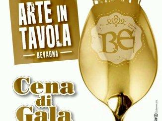 Arte in tavola a Bevagna, c'è anche la cena di gala, venerdì 3 maggio