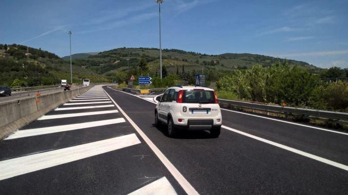 """Risanamento profondo pavimentazione su strada statale 3 """"Flaminia"""""""