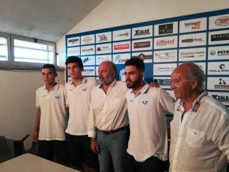 Foligno Calcio, presentazione calciatori Arras, Fiki e Settimi