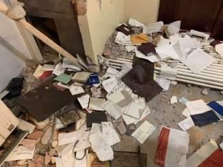 Raid nella casa dell'imprenditore Caporicci, è caccia alla banda