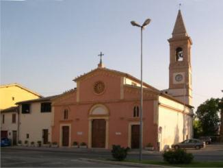 Monsignor Gualtiero Sigismondi riconsegna chiesa terremotata di San Marco