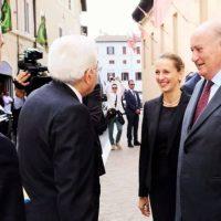 Il Presidente della Repubblica invia un premio di rappresentanza a Nemetria