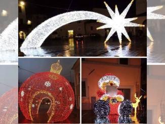 Natale a Foligno, accensione installazioni luminose anticipata ad oggi