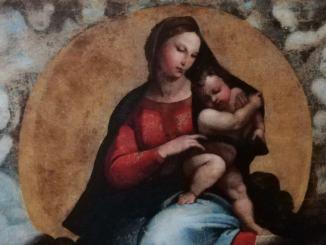 Presentazione restauro copia Madonna di Foligno