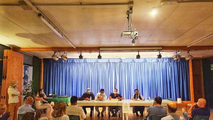 Foligno, incontri con la cittadinanza, il sindaco Zuccarini a Capodacqua