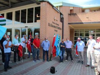 26 febbraio presidio davanti Ospedale Foligno USL Umbria 2 risposte insoddisfacenti