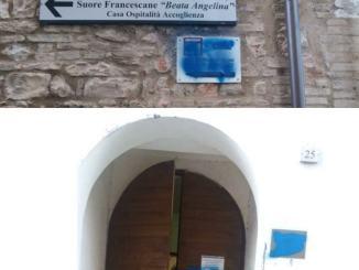 Imbrattata sede della Lega SPI CGIL di Foligno, la denuncia