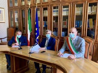 Protocolli d'Intesa tra Perugia e i comuni di Foligno e Gualdo Cattaneo