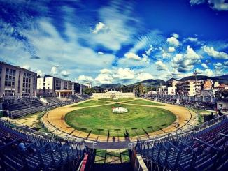 """Accesso al """"campo de li Giochi"""", de La Quintana, per la giostra del 13 settembre"""