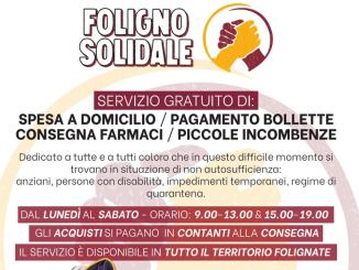 Foligno Solidale è un progetto di volontariato, senza scopo di lucro