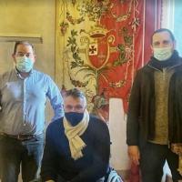 Sindaco di Foligno, Stefano Zuccarini, ha ricevuto consiglio direttivo Avis