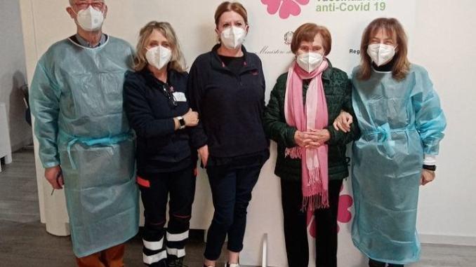Procede spedita all'Azienda Usl Umbria 2 la campagna vaccinale anticovid