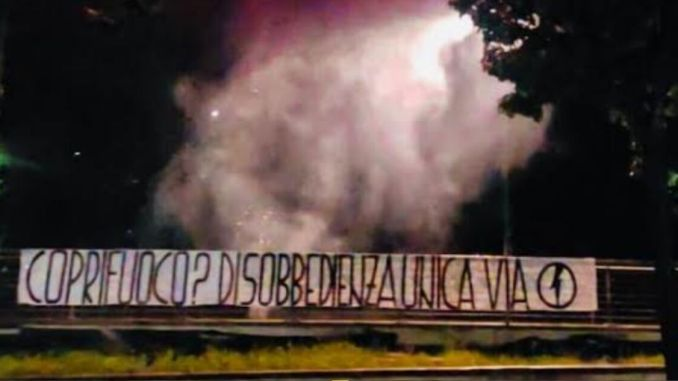 Esplosioni a Foligno, fuochi d'artificio ieri sera in Via Guglielmo Marconi