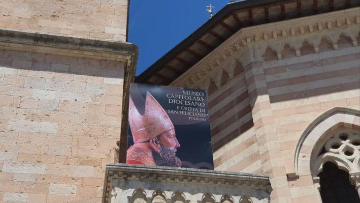 Riaperto museo capitolare diocesano con la mostra arte contemporanea ispirata alla Madonna di Foligno