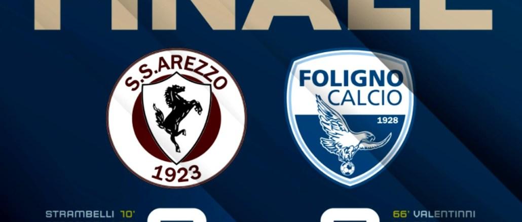 Quinta giornata di Campionato serie D, finisce 3-2 tra Arezzo-Foligno