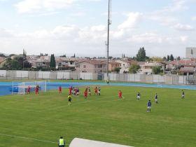 Terza giornata Campionato serie D, Foligno-Cascina 2 a 2