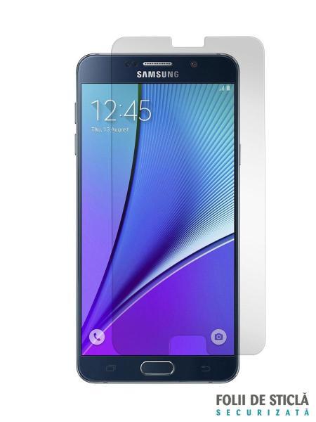 Folie din sticla securizata pentru Samsung Galaxy Note 5