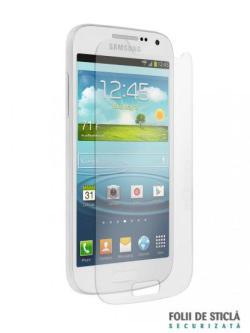 Folie din sticla securizata pentru Samsung Galaxy S4 Mini