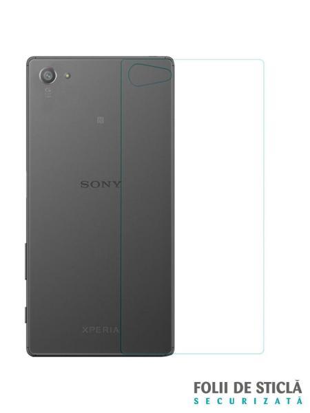 Folie din sticla securizata pentru Sony Xperia Z5 Compact (spate)