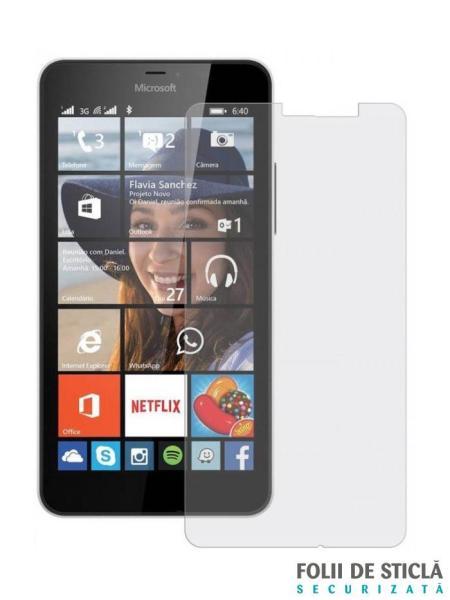 Folie din sticla securizata pentru Microsoft Lumia 640XL