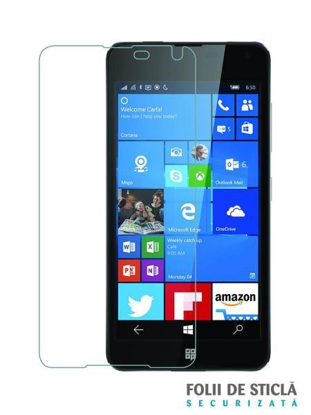 Folie din sticla securizata pentru Microsoft Lumia 650