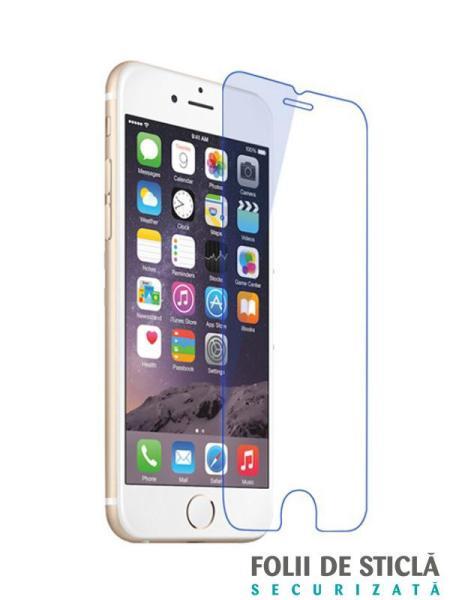Folie din sticla securizata pentru iPhone 6 / 6S ANTI BLUE-RAY