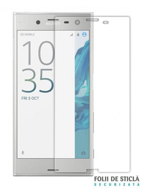 Folie din sticla securizata pentru Sony Xperia XZ Premium