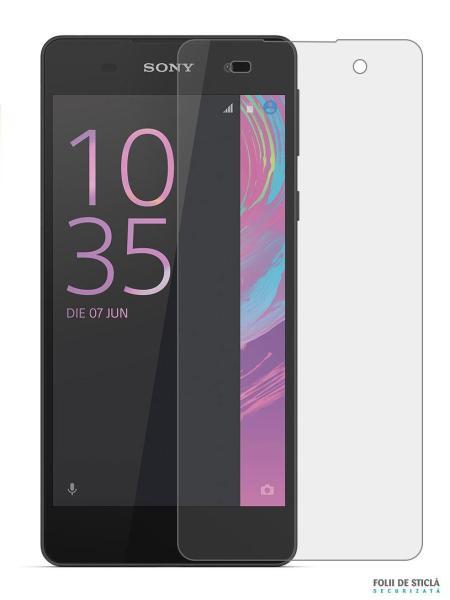 Folie din sticla securizata pentru Sony Xperia E5