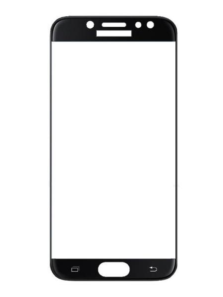 Folie curbată 3D din sticlă securizată pentru Samsung Galaxy J5 (2017) NEGRU
