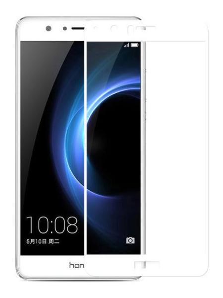 Folie Fullscreen 2.5D din sticla securizata pentru Huawei Honor V8 ALB