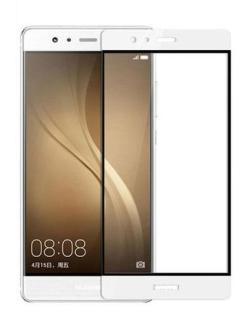 Folie Fullscreen 2.5D din sticla securizata pentru Huawei P9 ALB