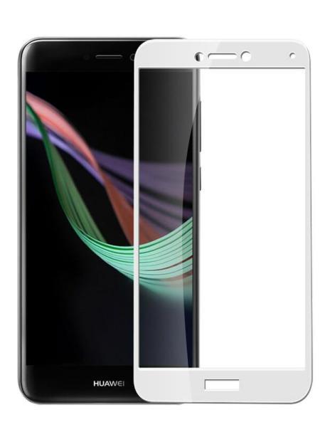 Folie Fullscreen 2.5D din sticla securizata pentru Huawei P9 Lite 2017 (P8 Lite 2017) ALB