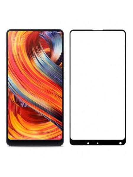 Folie Fullscreen 2.5D din sticla securizata pentru Xiaomi Mi Mix 2 NEGRU