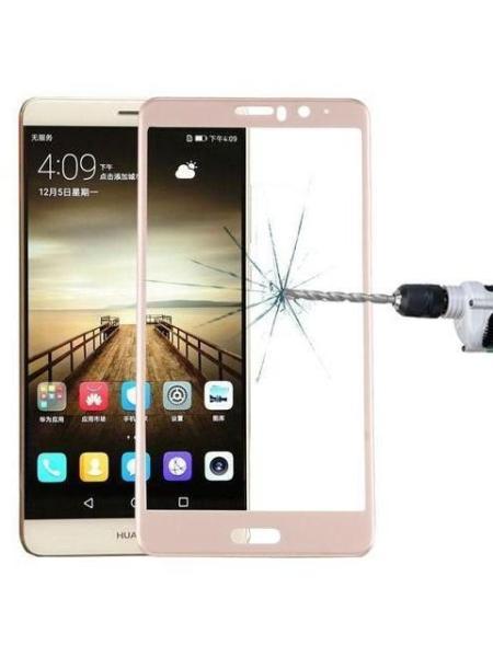 Folie curbată 5D din sticlă securizată pentru Huawei Mate 9 GOLD - Full glue
