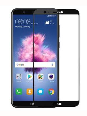 Folie Fullscreen 2.5D din sticla securizata pentru Huawei P Smart NEGRU