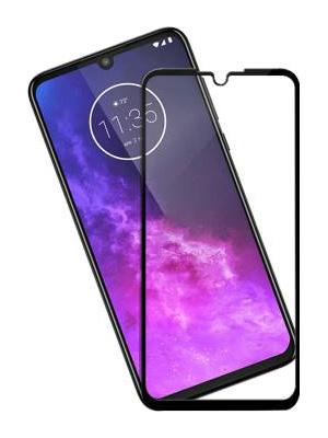 Folie Fullscreen 9D din sticla securizata pentru Motorola One Zoom - FULL GLUE