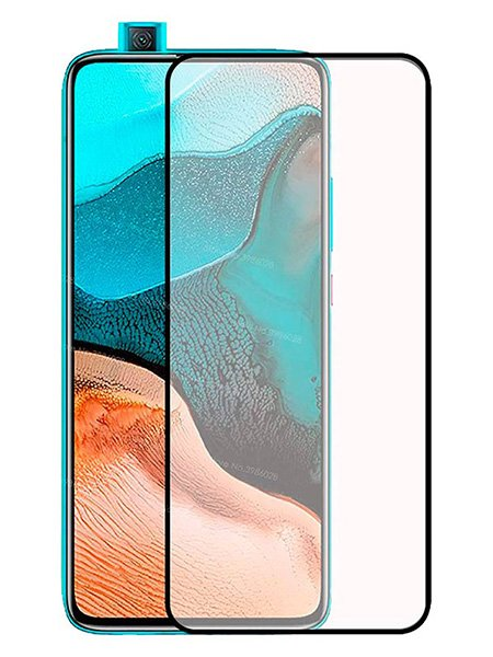 Folie Fullscreen 111D din sticla securizata pentru Xiaomi Poco F2 Pro - FULL GLUE