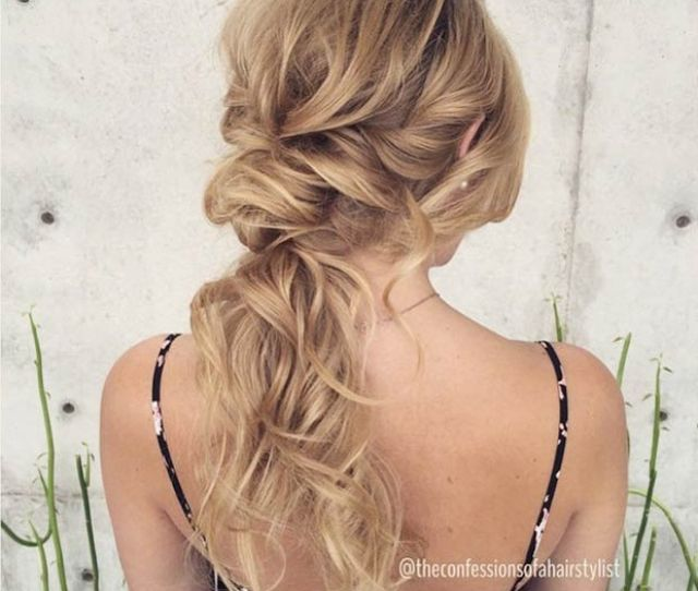 Tousled Low Ponytail 7 11287919_1422465178073604_2123336622_n