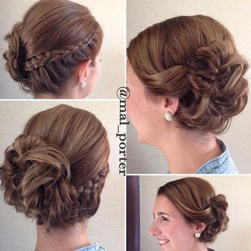60 Updos For Short Hair Your Creative Short Hair