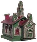 Tramp art church