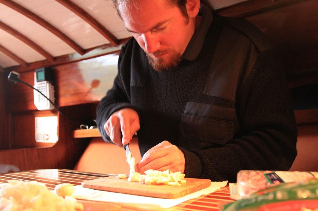 Kochen in der Kajüte