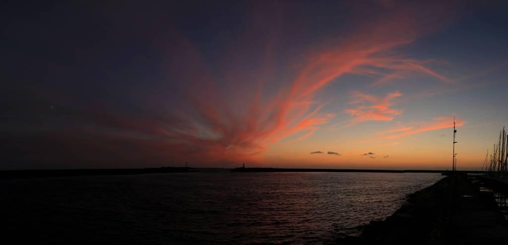 Sonnenuntergang auf Anholt