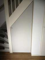 Realiseren berging onder trap