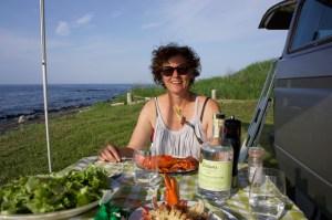 julie-dinner-on-beach