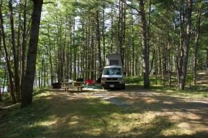 van-amongst-the-trees